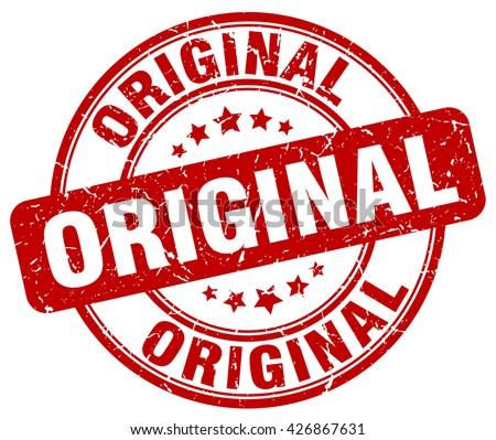 original red grunge round vintage rubber stamp.original stamp.original round stamp.original grunge stamp.original.original vintage stamp. - stock vector