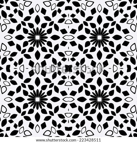 Original seamless pattern, EPS8 - vector graphics.