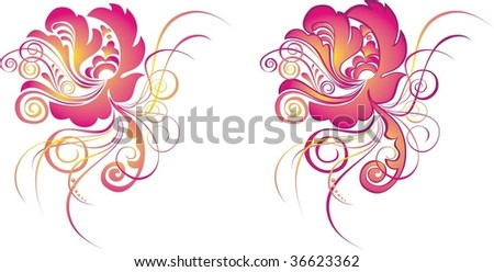 Ornament_01 - stock vector