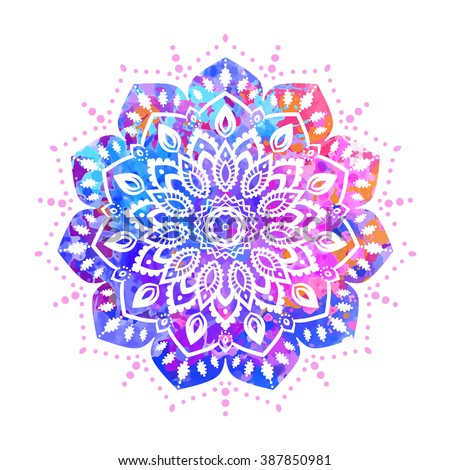 Ornament invitation card mandala geometric circle em vetor stock ornament invitation card with mandala geometric circle element made in vector mandala for decoration stopboris Choice Image