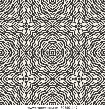 ornament  seamless pattern - stock vector