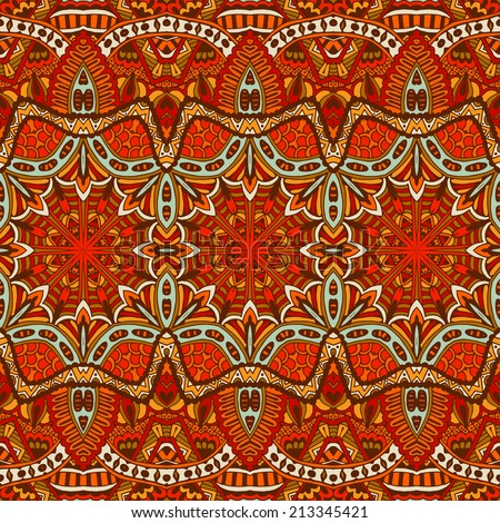 Ornamental Abstract Vector Seamless Background