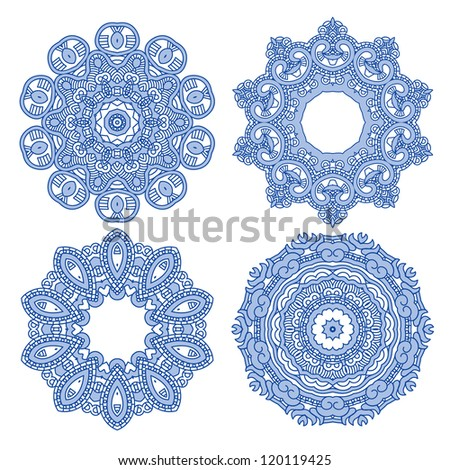 Ornamental ethnicity pattern - stock vector