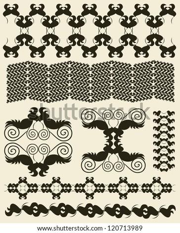 Ornamental pattern - stock vector
