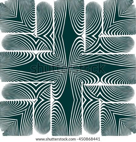 Ornamental Pattern Background Vector 180 - stock vector