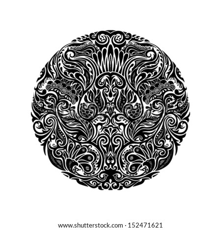 Tribal Tattoo Stock Photos, Illustrations, and Vector Art