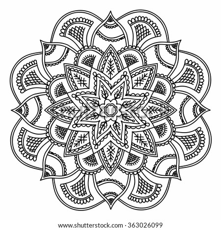 Hand With Third Eye Coloring Pages
