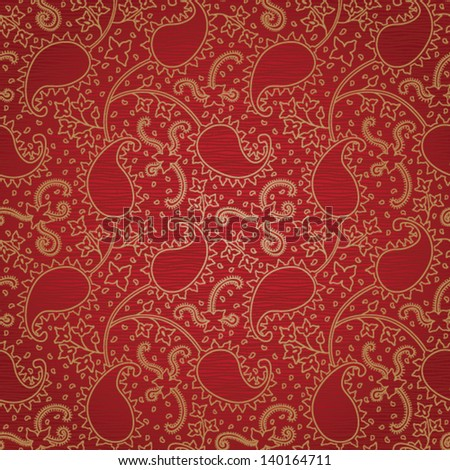Ornate floral seamless texture. Persian style background.