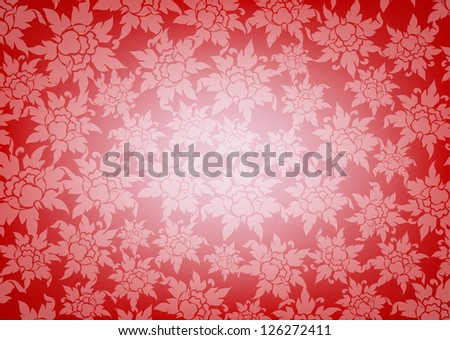 Ornate floral texture background