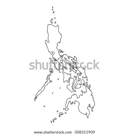Outline of the country of  Philippines