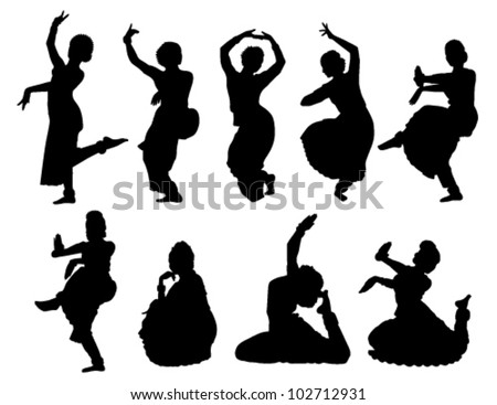 Dancer Silhouette Stock Photos, Images, & Pictures ...