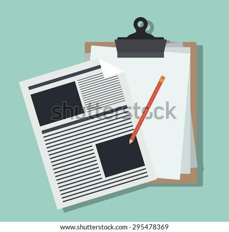 Outsourcing digital design, vector illustration eps 10 - stock vector