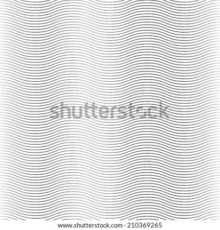 Overlay Wave Stripe Background - simple texture for your design. EPS10 vector. - stock vector