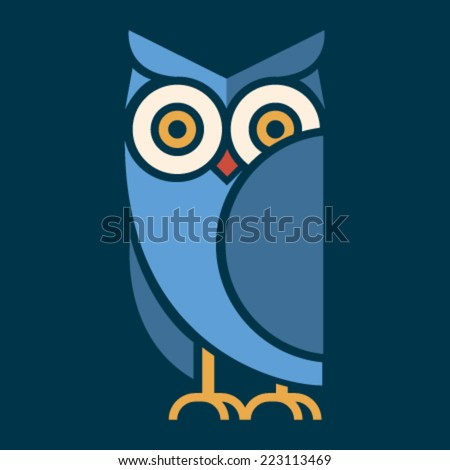 Owl logo stock images royalty free images vectors shutterstock owl vector stopboris Choice Image