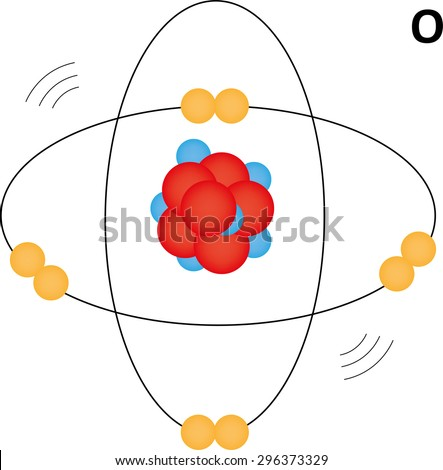 how to make an oxygen atom