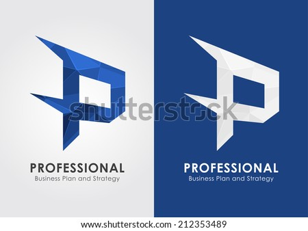 P Alphabet Design -vector-p-professional-symbol-icon-from-an-alphabet-p-creative-design ...