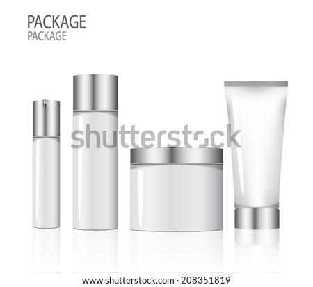 Package beauty design vector illustration - stock vector