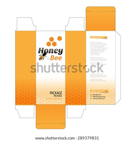 Package Box Design Vector Illustration Stock Vector 367170938 ...