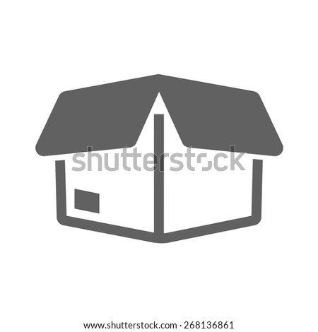 Package, parcel, gift, box icon vector image. Can also be used for eCommerce, shopping, business. Suitable for web apps, mobile apps and print media. - stock vector