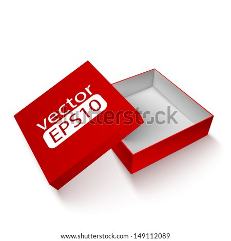 Package red box design