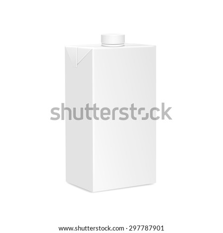 package two liter for new design, isolated vector - stock vector