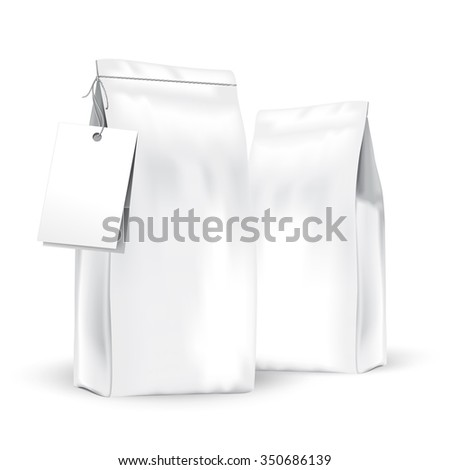 Packaging for tea or coffee - stock vector