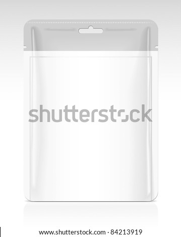 Packaging template - stock vector
