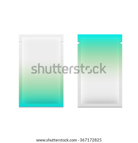 Packaging two template vector design  - stock vector