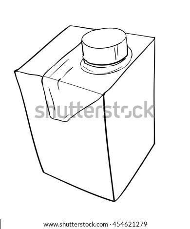 packing milk boxe picture, vector packing