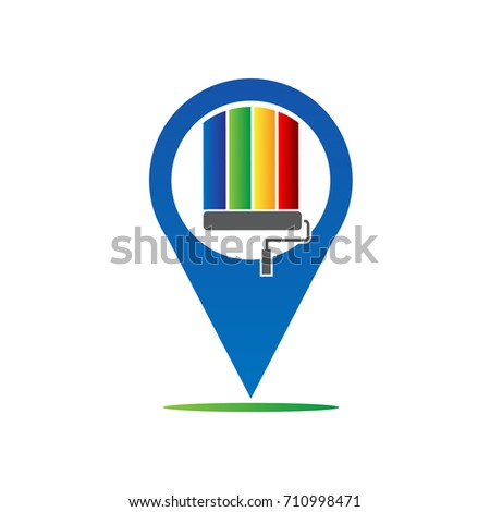 paint location logo