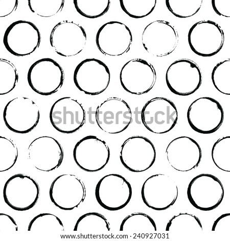 Painted pattern - stock vector