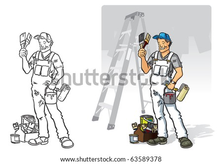 Painter And Decorator Stock Photos Images Pictures
