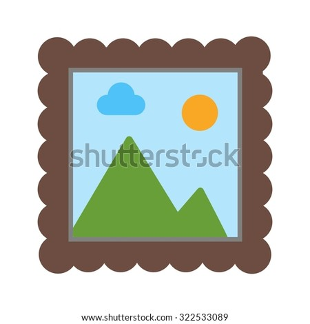 Painting, abstract, art icon vector image.Can also be used for art and designing. Suitable for mobile apps, web apps and print media.
