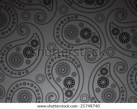 Paisely design - stock vector