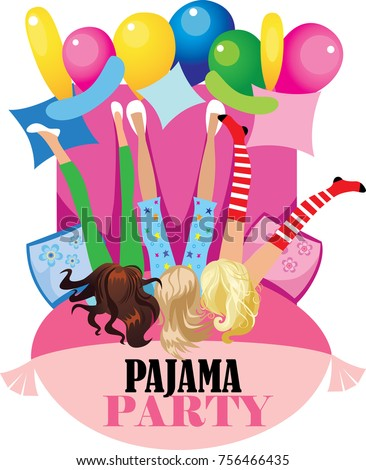 Pajama Party Stock Images Royalty Free Images Amp Vectors