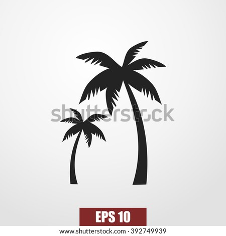 paml icon vector - stock vector