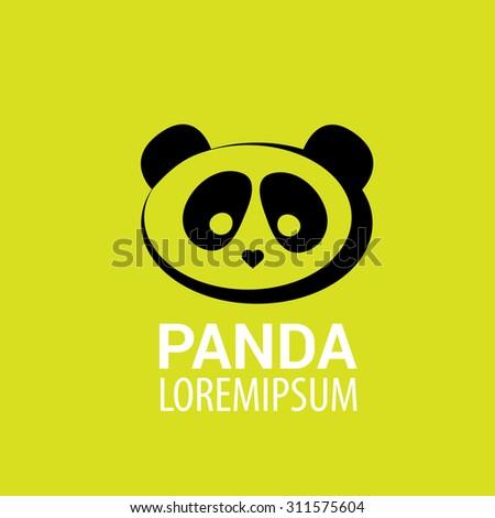 Panda Icon Vector Panda Bear Symbol Stock Vector 311575604