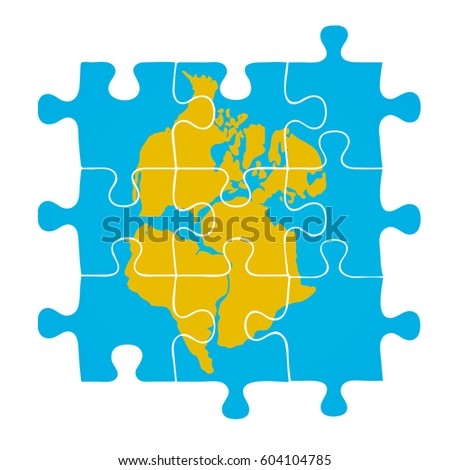 Pangaea Stock Images RoyaltyFree Images Vectors Shutterstock - Pangaea map