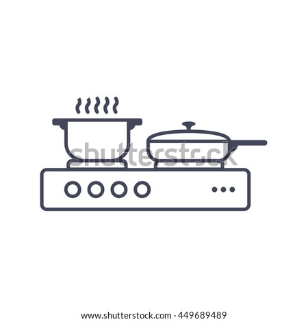 Flaming Pan Stock Vectors Amp Vector Clip Art Shutterstock
