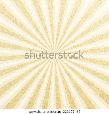 paper rays abstract grunge background, vector illustration