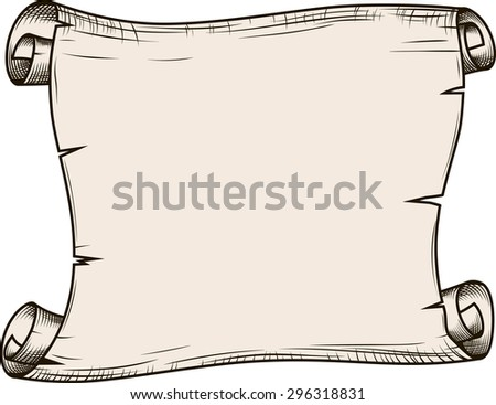 Paper roll  - stock vector