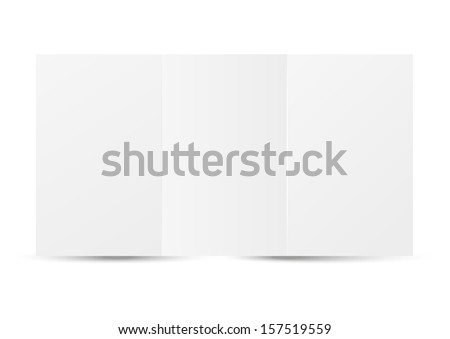 Paper sheet with place for text - stock vector