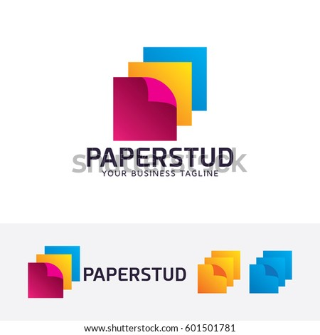Paper Studio Print Layer Art Abstract Office Supplier