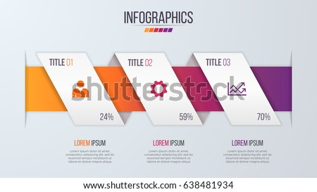 Paper Style Infographic Timeline Design Template Vector – Paper Design Template