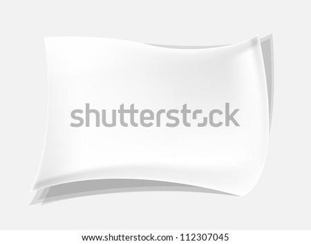 Paper vector - stock vector