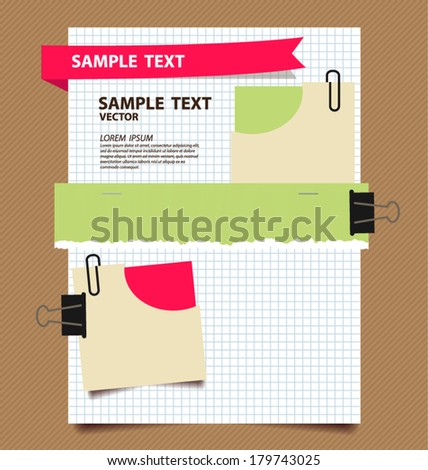 paper vector illustration