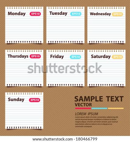paper vector illustration - stock vector
