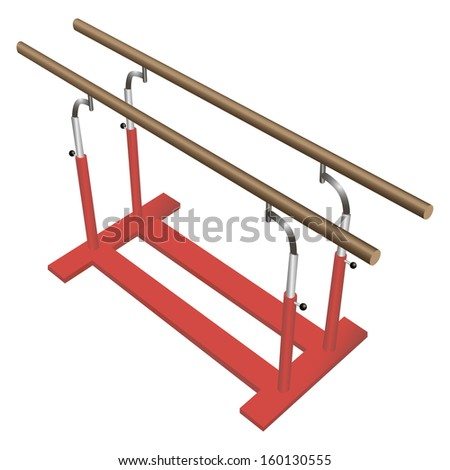Gymnastics Clipart Parallel Bars Parallel Bars For Gymnastic