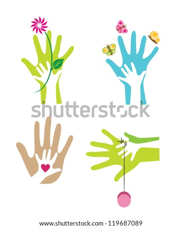 Parent-Child1 - stock vector