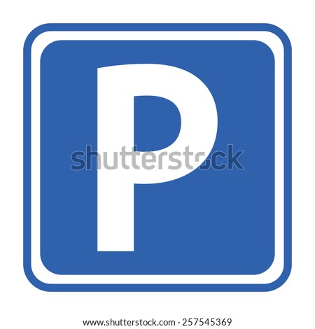 Parking Sign - stock vector